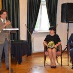 Wręczenie nagrody Orła i Roży Marianowi Janoszce