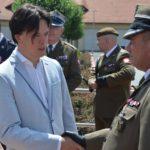 Przekazanie dowództwa w 5. Pułku Chemicznym w Tarnowskich Górach