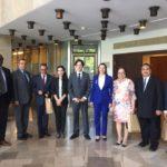 Spotkanie z ambasadorami krajów zasiadających w komitecie UNESCO - Sejm, czerwiec 2017