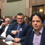 W ławach poselkich na Sali Plenarnej