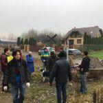 Sprzątanie Parku Piny - październik 2018