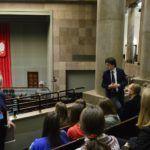 Wycieczka młodzieży do Sejmu 2017 I