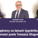 Współpraca z samorządowcami powiatu tarnogórskiego