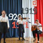 Akademia z okazji Święta Niepodległości w tarnogórskim Gastronomiku