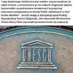 Logo UNESCO na znakach drogowych – jest szansa